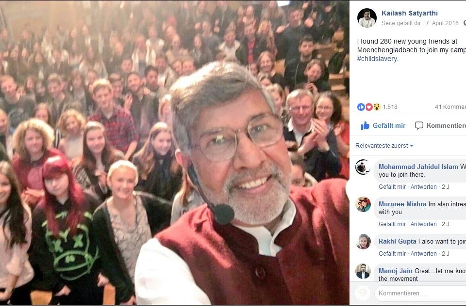 Kailash Satyarthi im HUMA